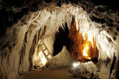 La mine de sel de Cardona